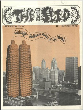 The Chicago Seed, vol. 1, n. 10, Chicago, 1968