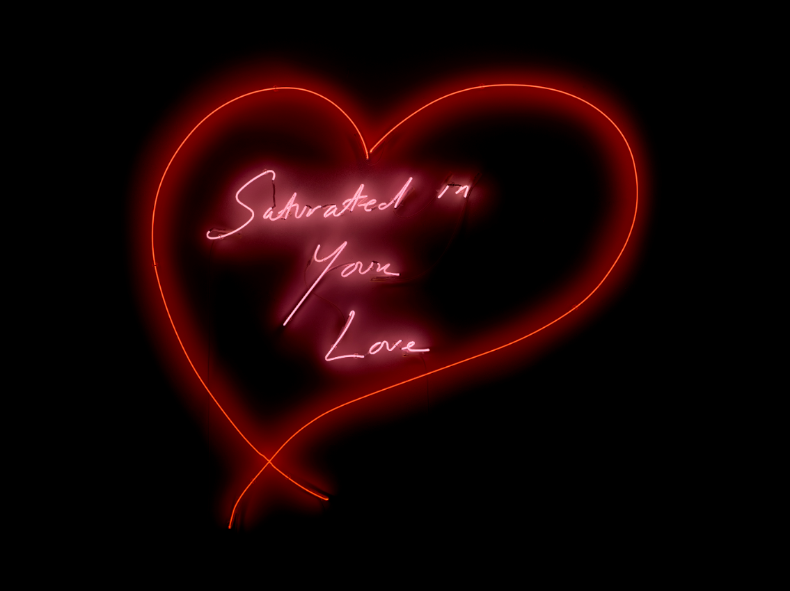 Tracey EMIN Saturated in Your Love, Neon, 2020   Galleria Lorcan O'Neill