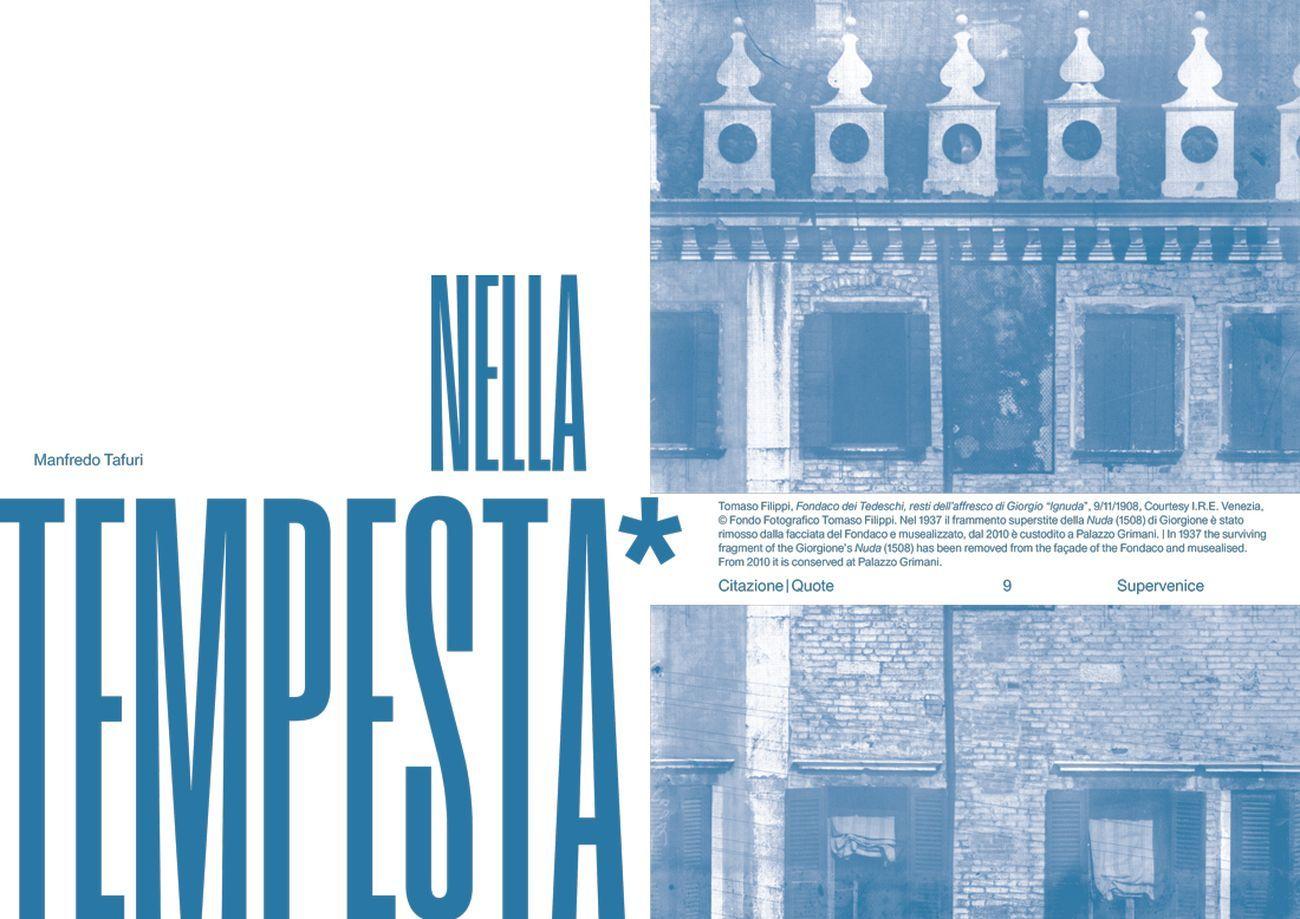 Vesper. Rivista di architettura, arti e teoria _ Journal of Architecture, Arts & Theory, n. 1, Supervenice, autunno inverno 2019