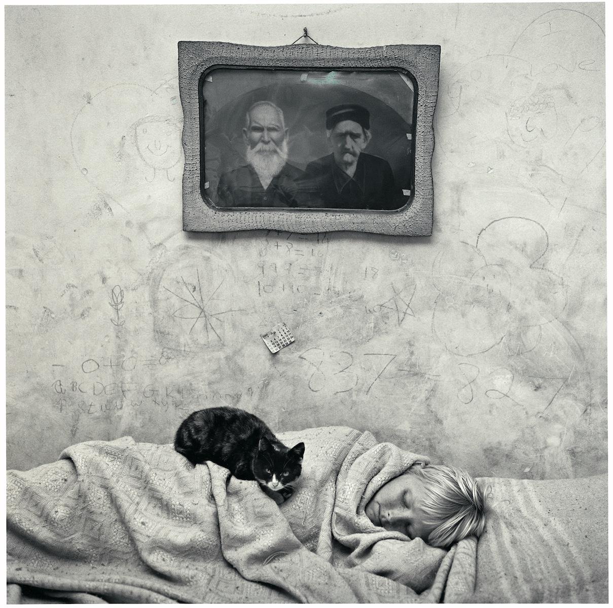 ROGER BALLEN Portrait of Sleeping Girl, 2000 © Roger Ballen