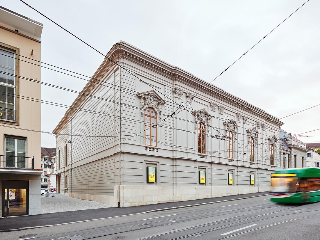 Herzog & de Meuron, Extension of the Stadtcasino Basel, Switzerland © Roman Weyeneth