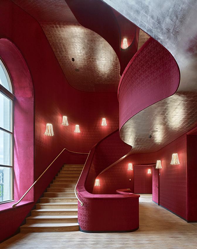Herzog & de Meuron, Extension of the Stadtcasino Basel, Switzerland © Ruedi Walti