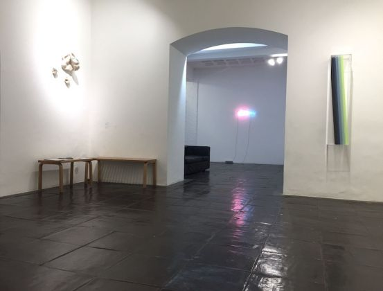 A moment of reflection. Exhibition view at Galleria Paola Verrengia, Salerno 2020