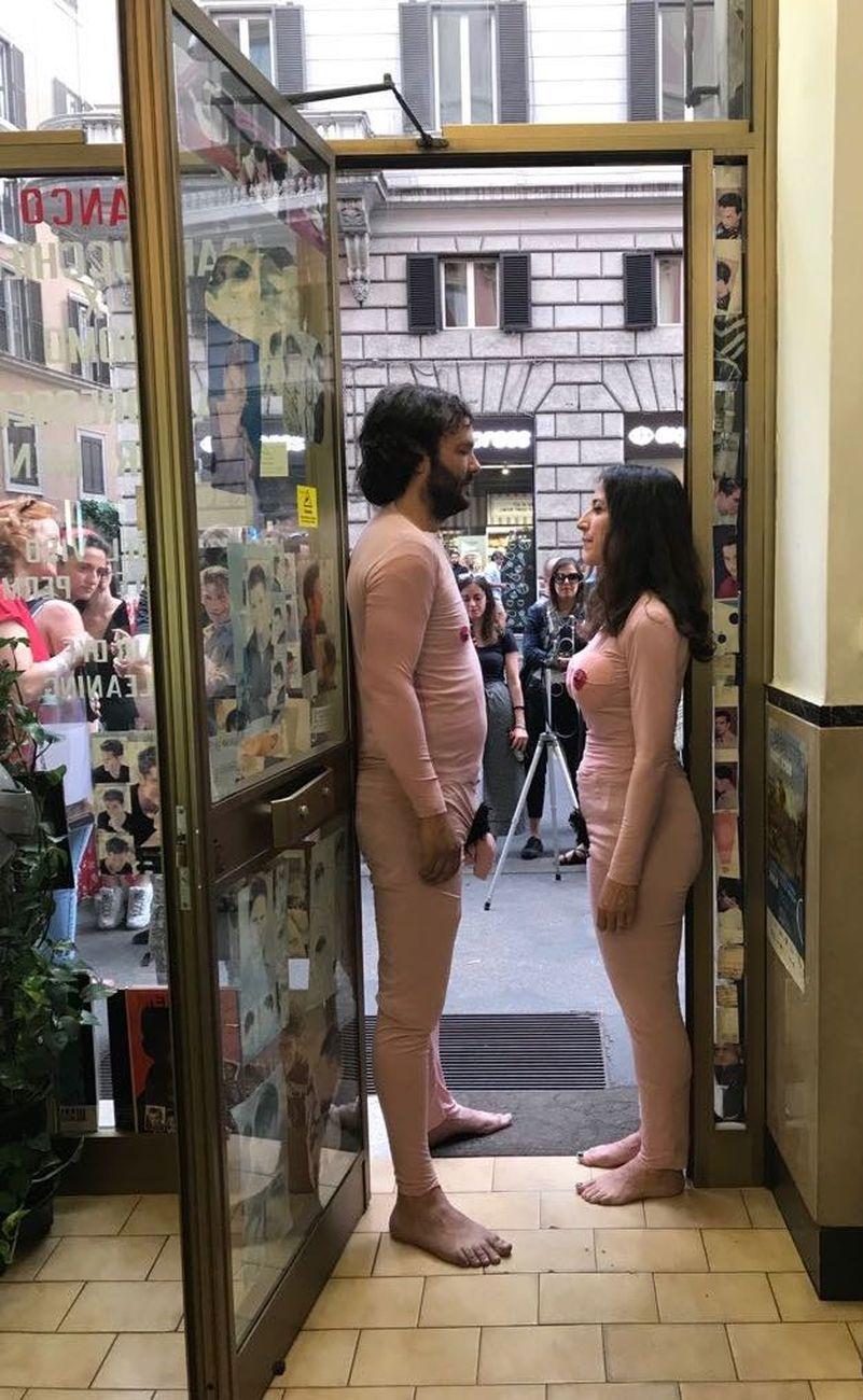 Adelaide Cioni e Fabio Giorgi Alberti, Pink Punk Performance, 2017