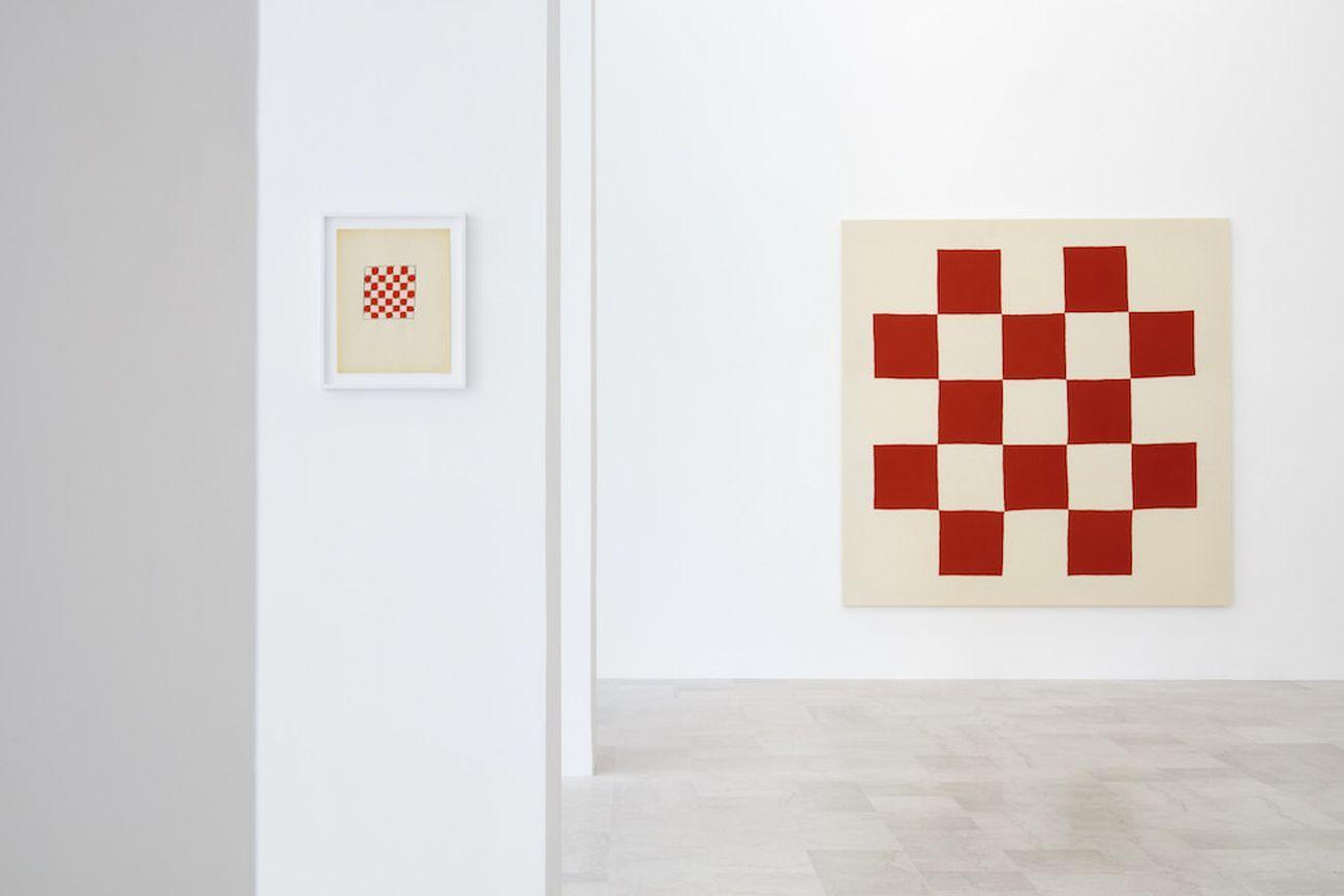 Adelaide Cioni. Shape, colour, taste, sound and smell. Exhibition view at P420, Bologna 2020. Photo C. Favero