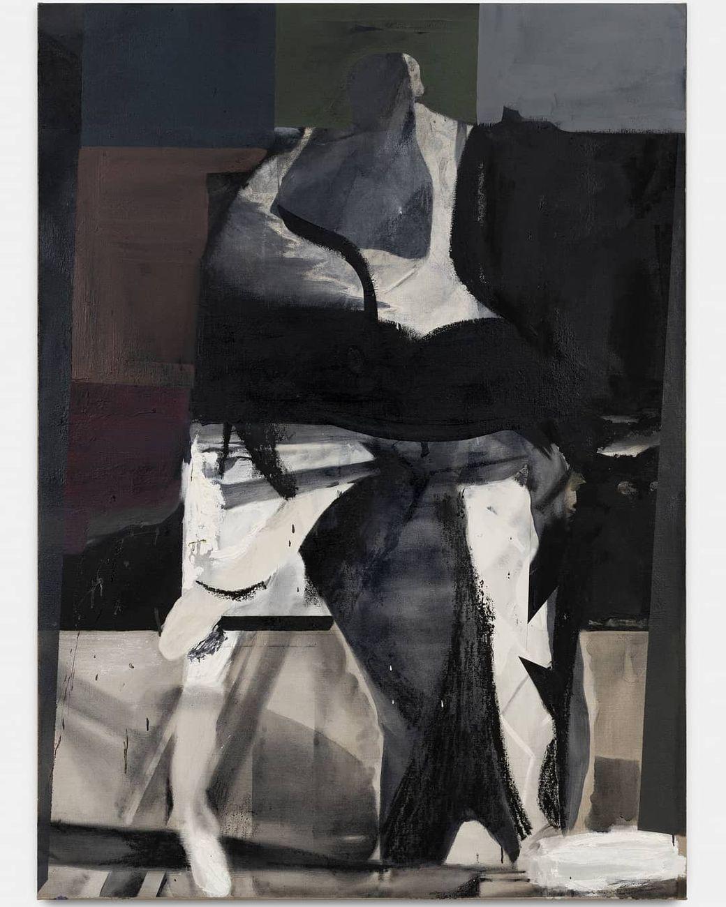 Alessandro Scarabello, Perseus, 2020, olio su tela, cm 170x123
