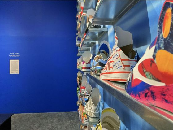 Andy Yoder. Overboard. Exhibition view at Brattleboro Museum & Art Center, Brattleboro 2020