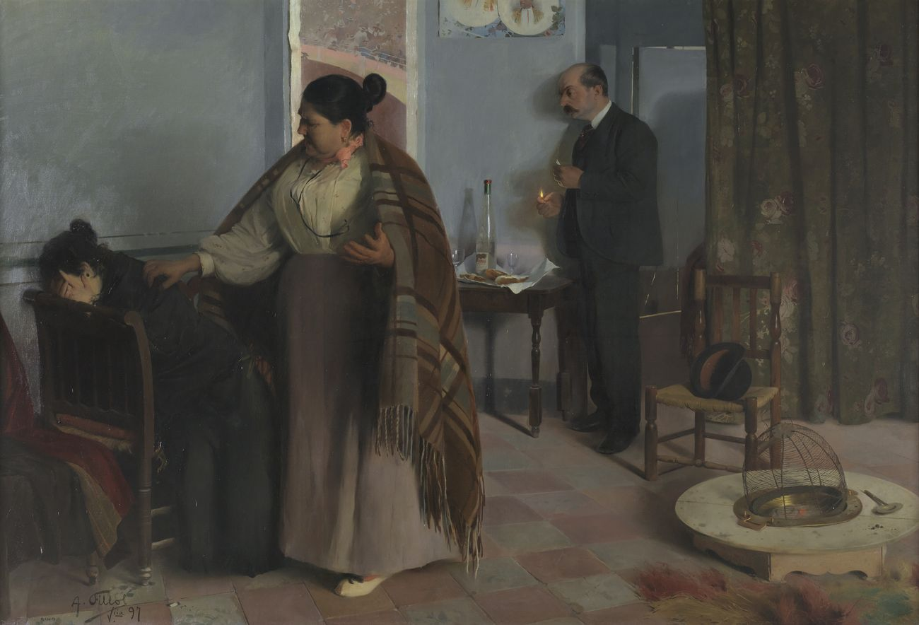 Antonio Fillol Granell, La bestia humana, 1897. Madrid, Museo Nacional del Prado