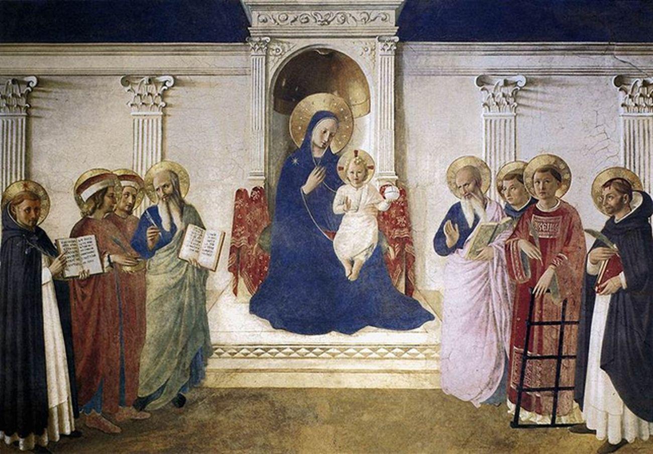 Beato Angelico, Madonna delle Ombre, 1440-50. Museo nazionale di San Marco, Firenze