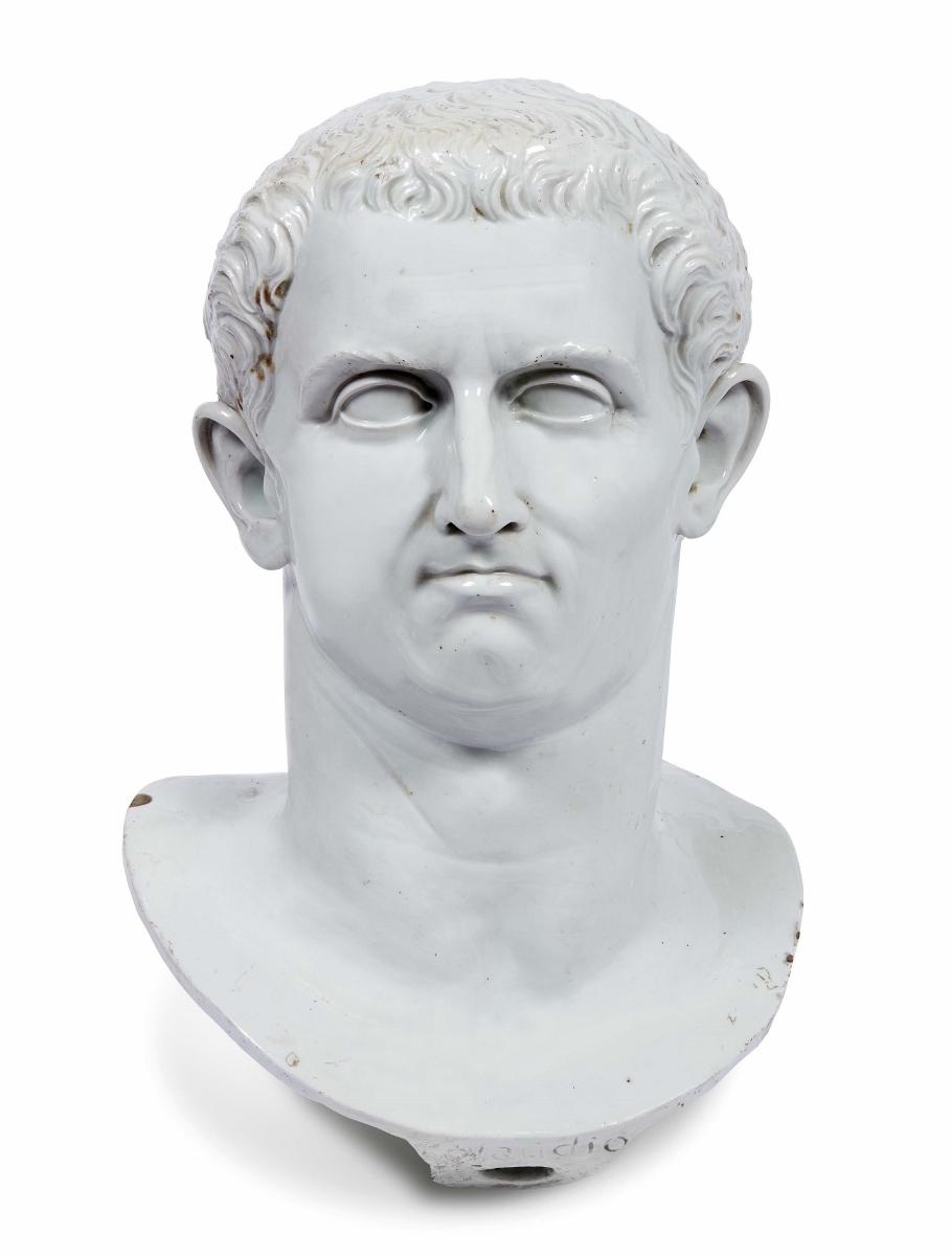 Busto di Claudio, Manifattura Ginori