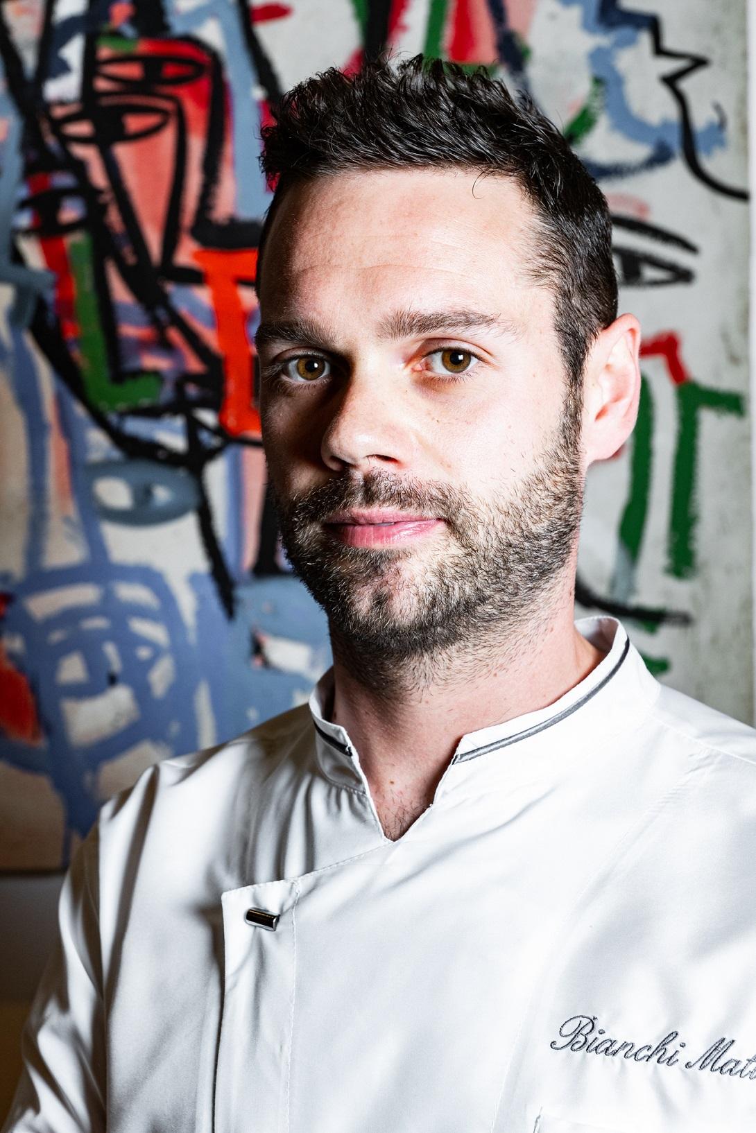 Chef Mattia Bianchi Ristorante Amistà, Verona