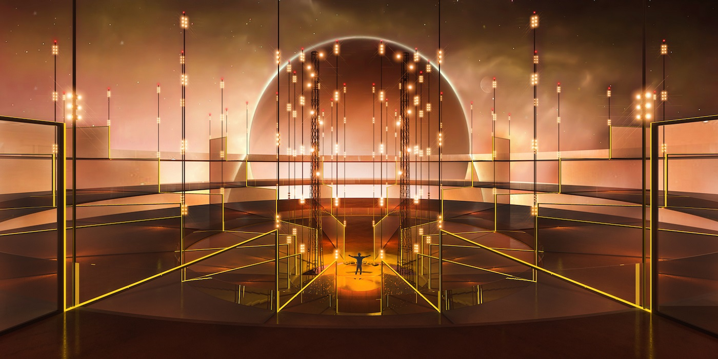 Dubai Design Week, The Shape of Things to Come_EVOLVE_A nightclub from the future rabih geha architects