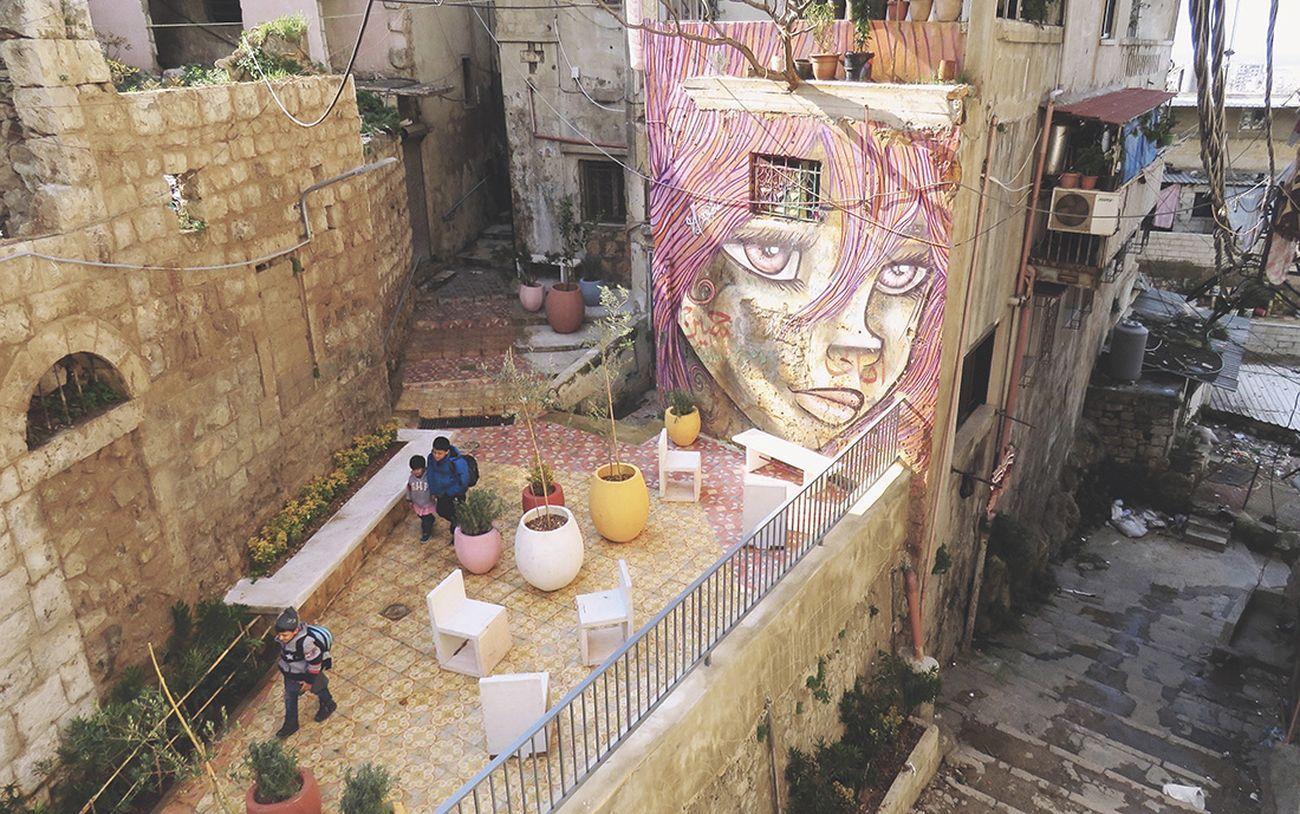 EVA Studio, Chaarani Stairs, Tripoli, Libano. Photo © Camille Fatier EVA Studio
