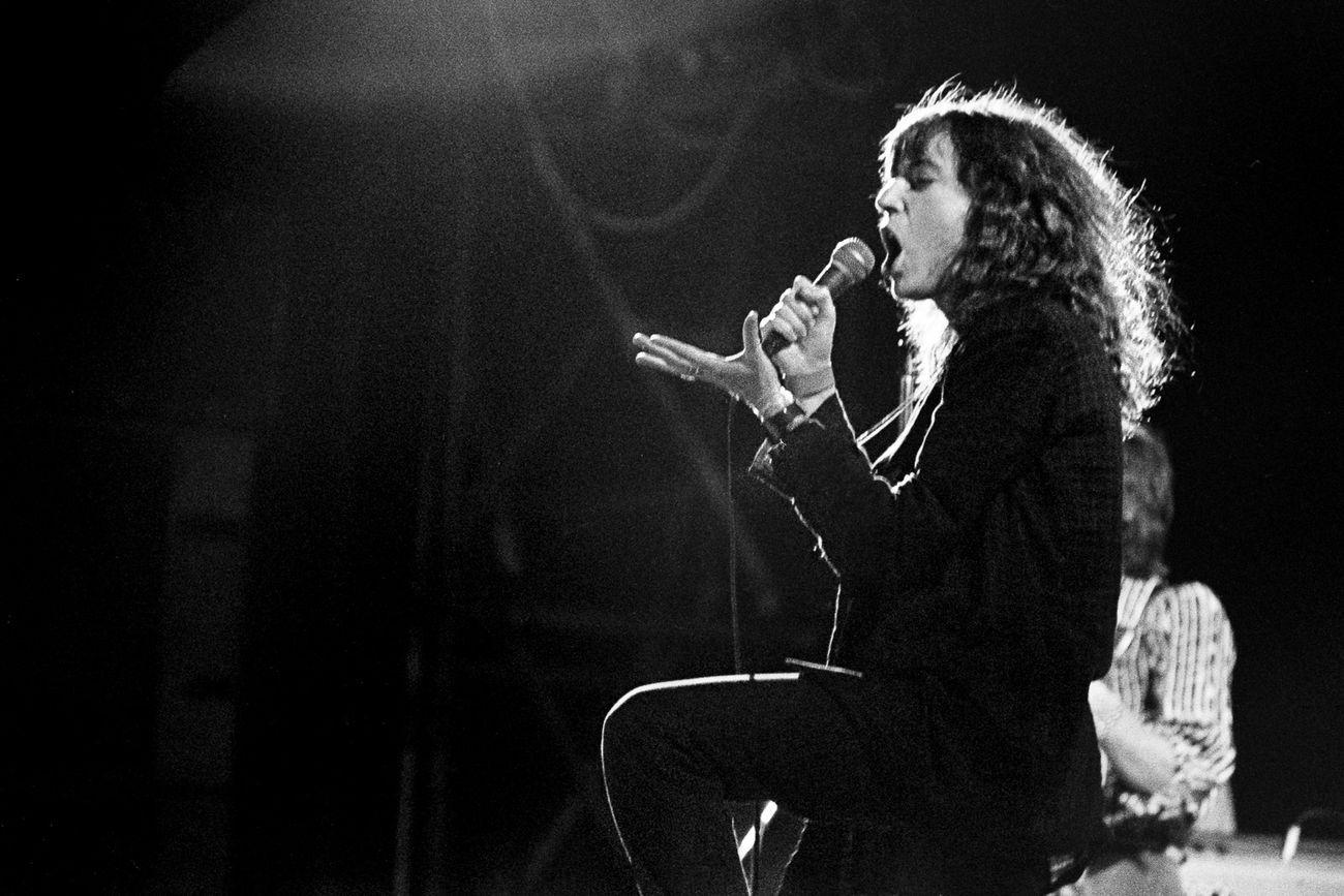Enrico Scuro, Patti Smith in concerto. Bologna settembre 1979