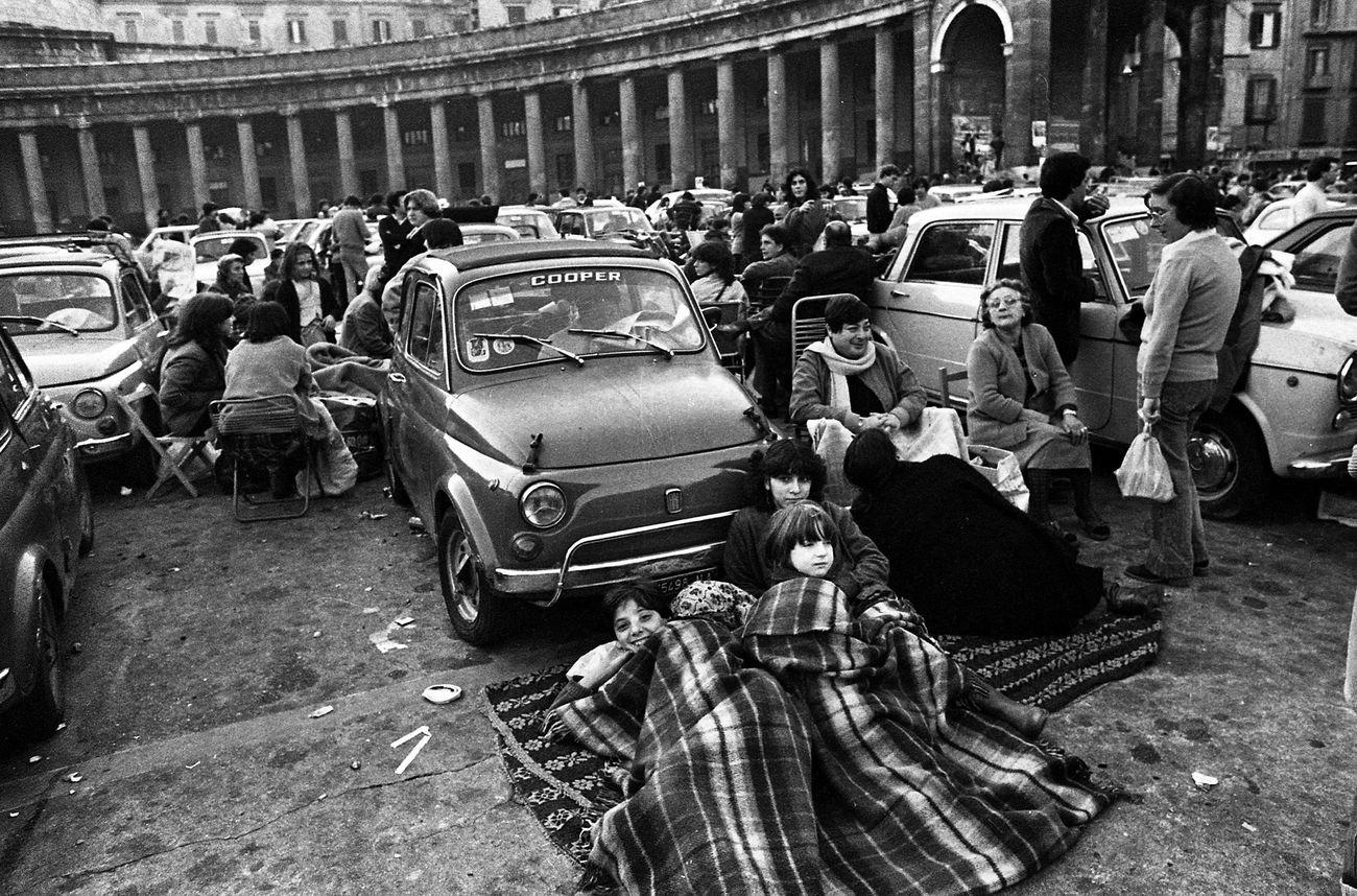 FOTOSUD, Napoli, Piazza del Plebiscito, 1980