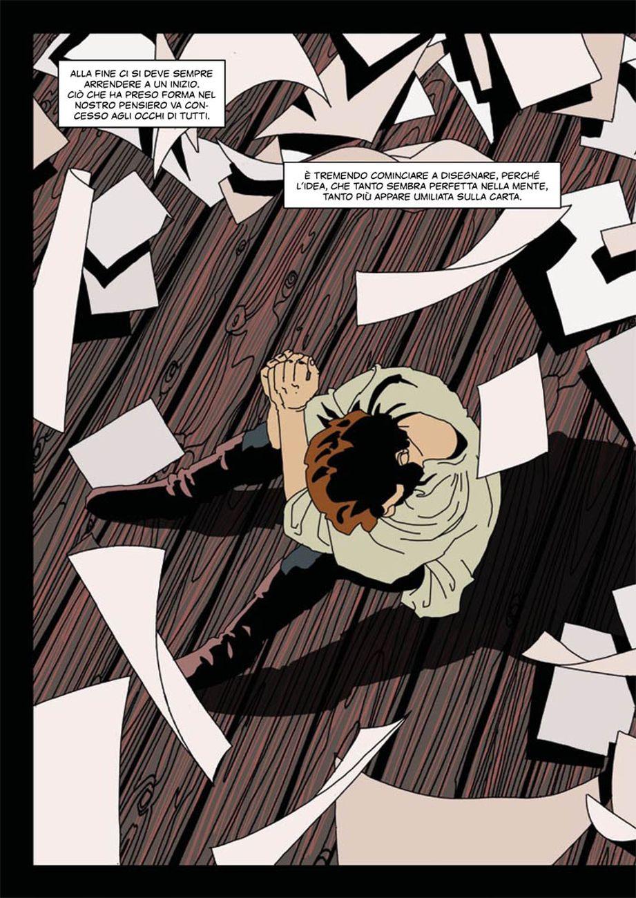 Gianluca Buttolo - Michelangelo. Il conflitto della Sistina (ReNoir Comics, Milano 2019)