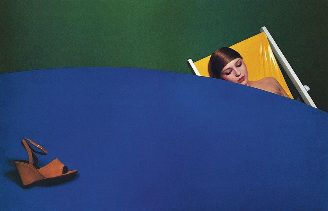 Guy Bourdin per Charles Jourdan, Summer 1974