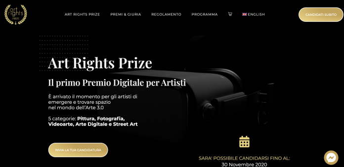 Homepage Art Rights Prize