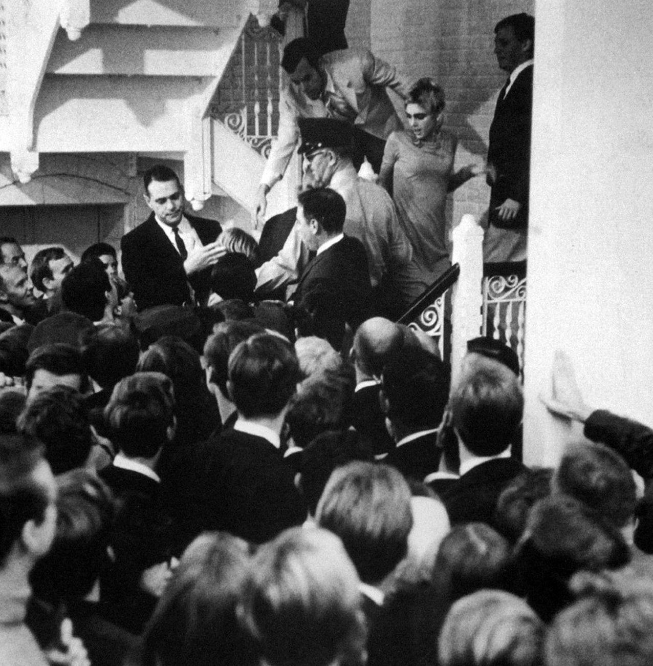 ICA - Institute of Contemporary Art, University of Philadelphia, inaugurazione della mostra Andy Warhol, 10 settembre 1965