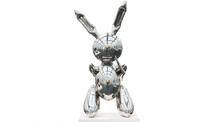 Jeff Koons, Rabbit, 1986 Collection Museum of Contemporary Art Chicago Photo by Nathan Keay, © MCA Chicago, © Jeff Koons