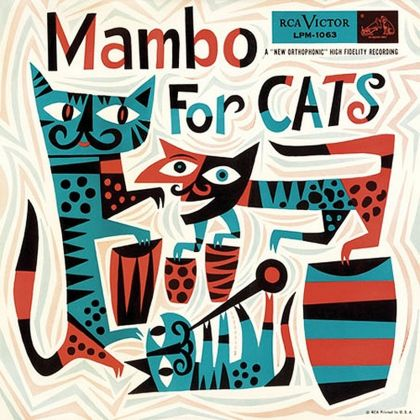 Jim Flora, Various Artists, Mambo for Cats, RCA Victor 1955