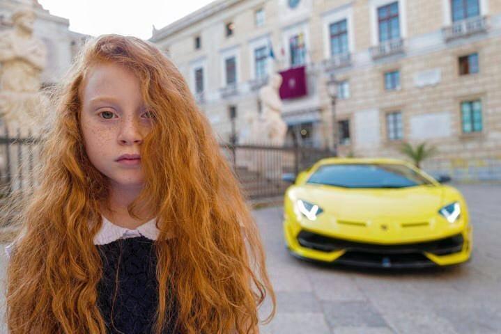Letizia Battaglia per Lamborghini, campagna With Italy, 2020