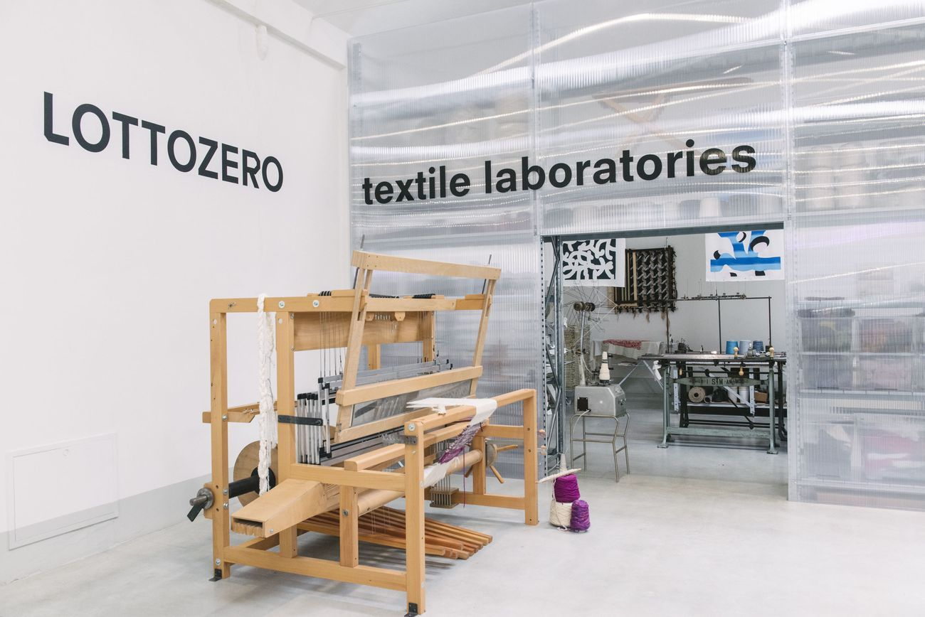 Lottozero textile laboratories, Prato. Photo © Agnese Morganti