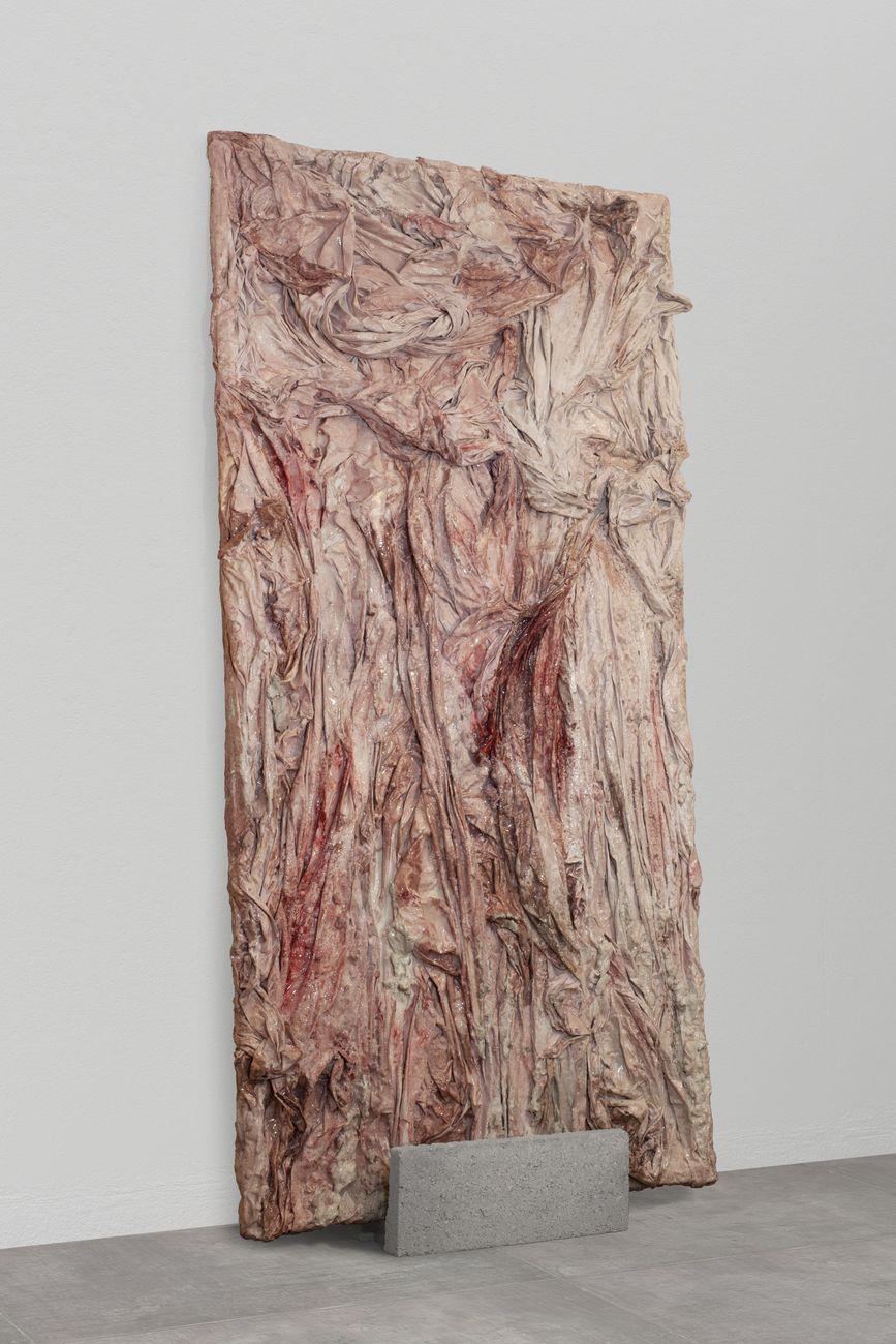 Monia Ben Hamouda, Prediction, 2019. Installation view at Alios 16ème Biennale d'Art Contemporain, Théâtre Cravey Pavilion, La Teste de Bûch. Courtesy l'artista