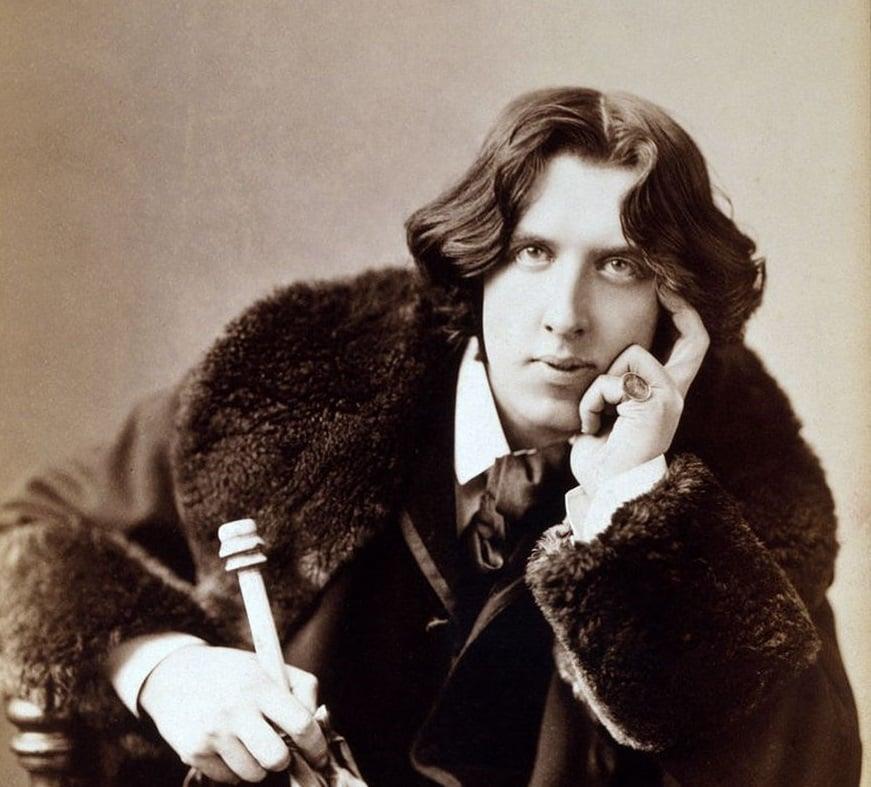 Oscar Wilde nel 1882, dettaglio