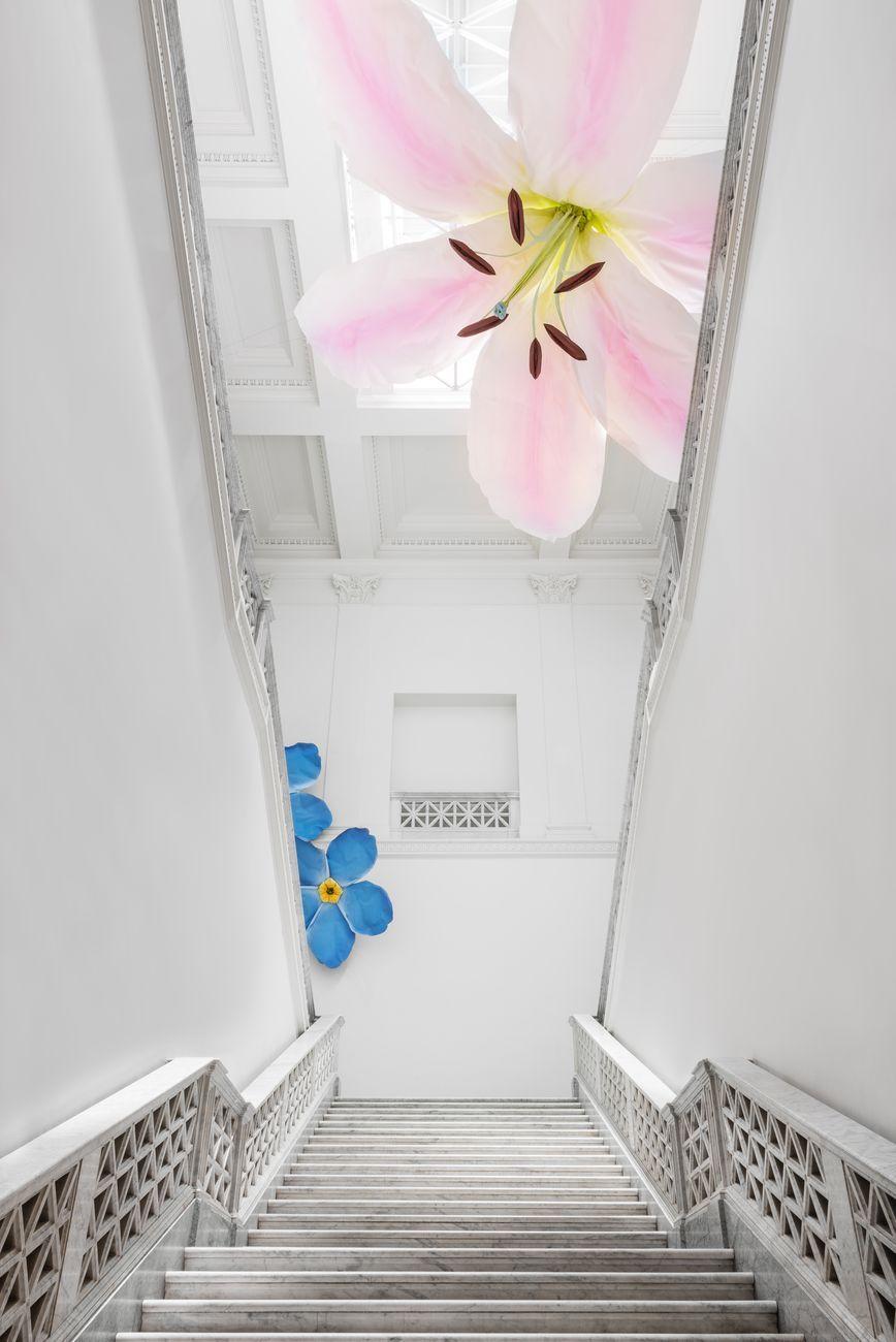 Petrit Halilaj e Alvaro Urbano. Installation view at Quadriennale d'arte 2020 FUORI. Courtesy Fondazione La Quadriennale di Roma. Photo DSL Studio