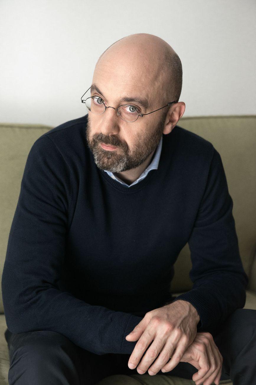 Riccardo Falcinelli. Photo Giulia Natalia Comito