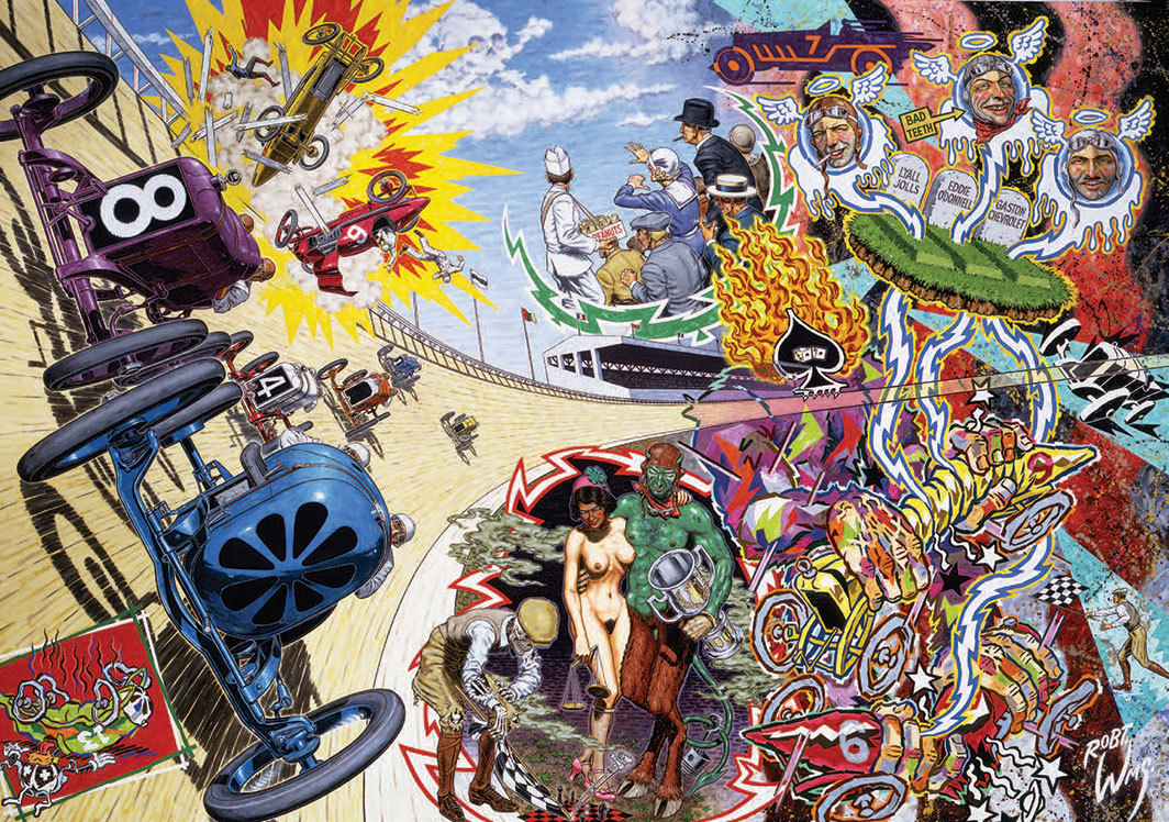 Robert Williams, Death on the Boards, 1992