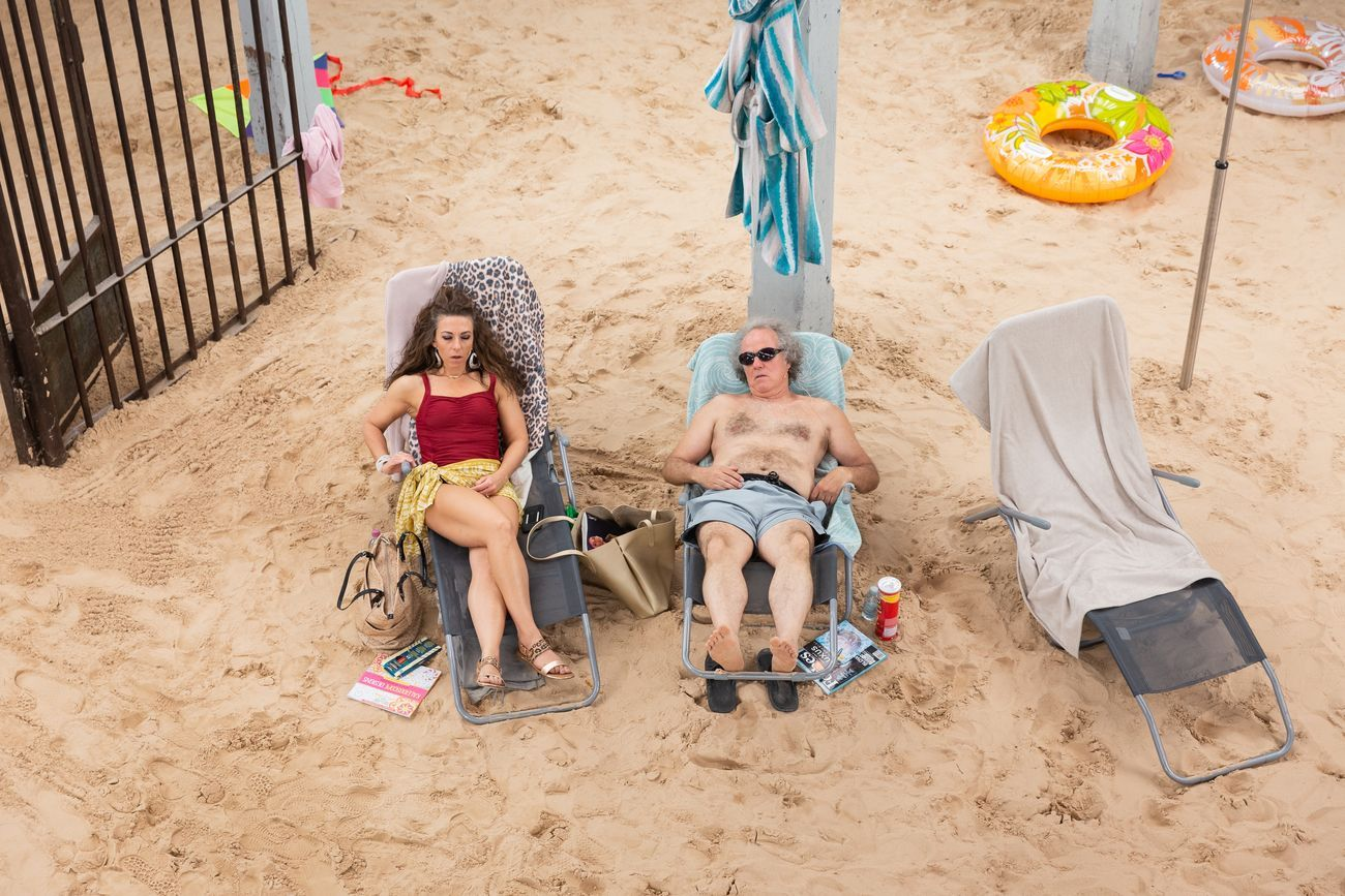 Sun&Sea (Marina), opera-performance di Rugile Barzdziukaite, Vaiva Grainyte, Lina Lapelyte alla Biennale Arte 2019, Venezia. Photo Andrej Vasilenko © Courtesy the Artists