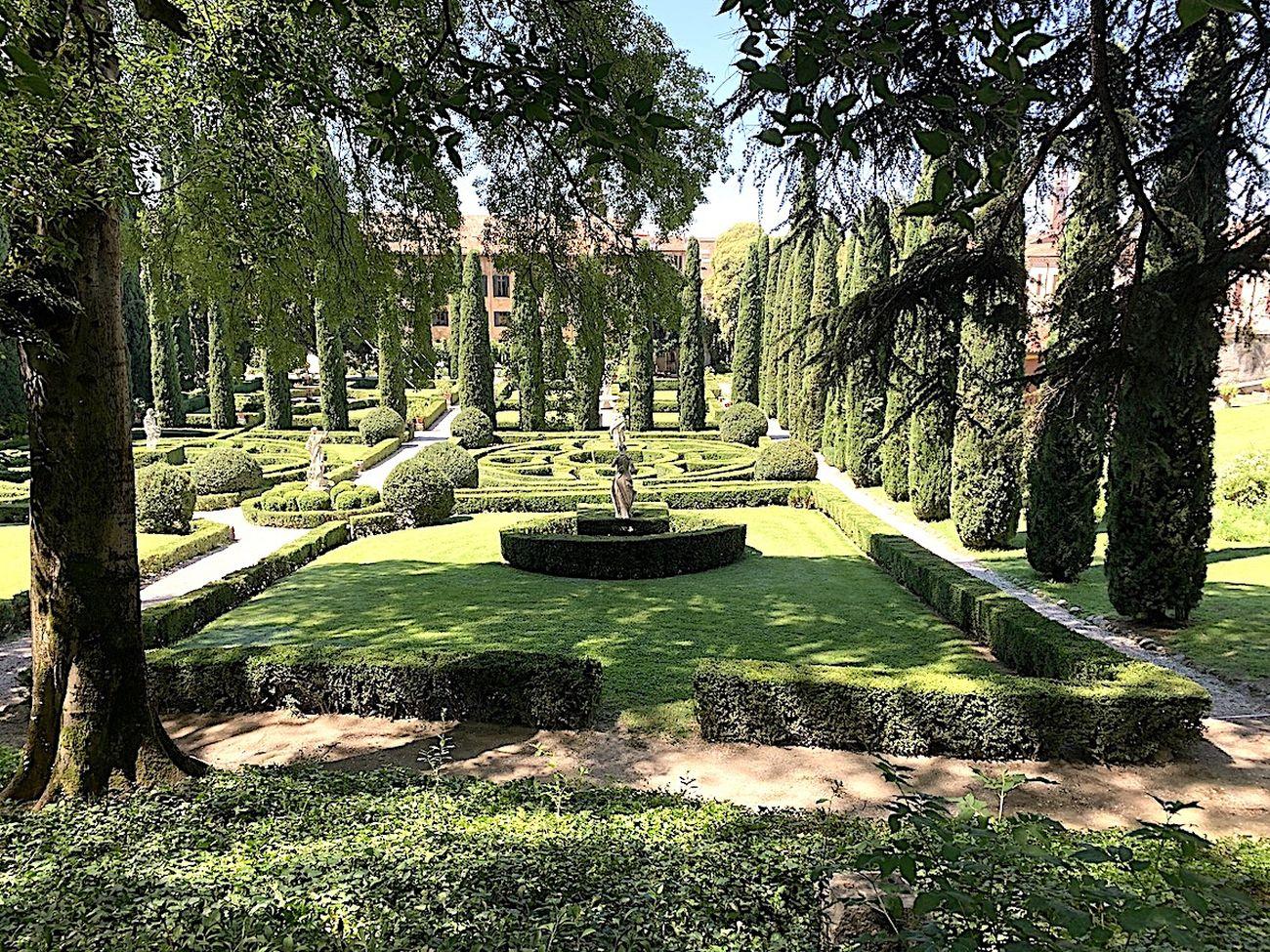 Giardino Giusti, Verona. Photo Claudia Zanfi