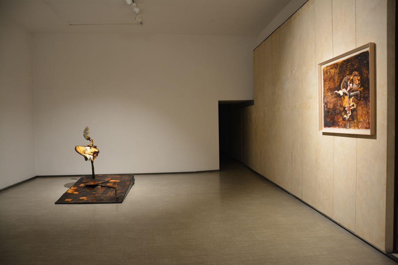 Silvano Tessarollo. Prima che il gallo canti. Exhibition view at La Giarina Arte Contemporanea, Verona 2020