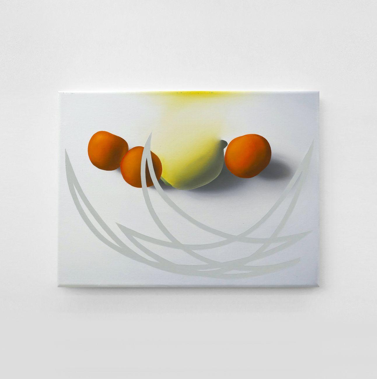 Stefano Perrone, Ascensione, 2019, oil on canvas, 30x40 cm