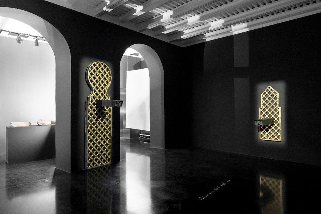 Sultan bin Fahad. Frequency. Exhibition view at Fondazione Alda Fendi, Roma 2020