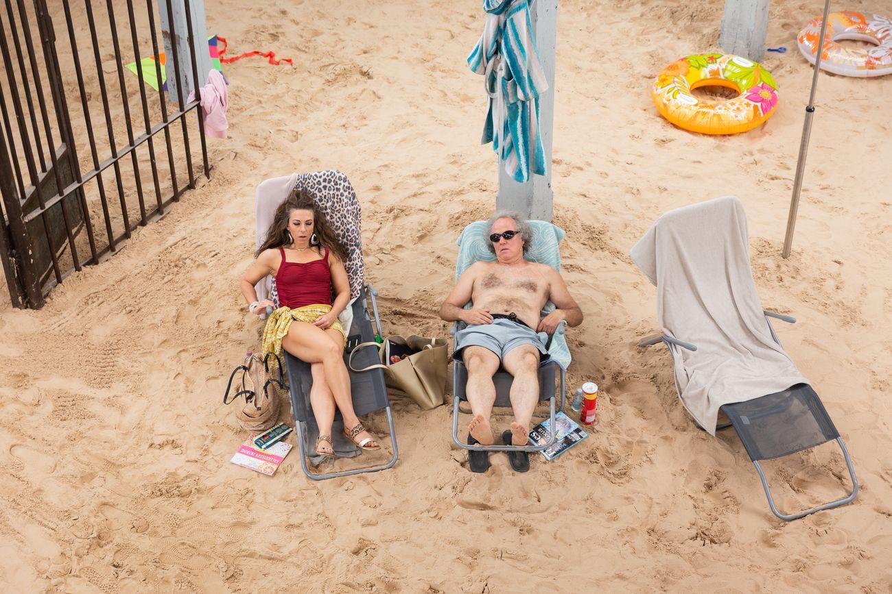 Sun_Sea (Marina), opera performance by Rugile Barzdziukaite, Vaiva Grainyte, Lina Lapelyte, Biennale di Venezia 2019. Photo Andrej Vasilenko © Courtesy the artists