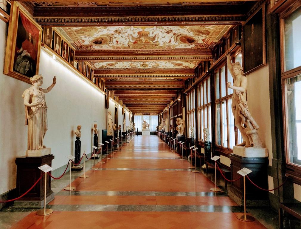 Terzo Corridoio Uffizi, Firenze