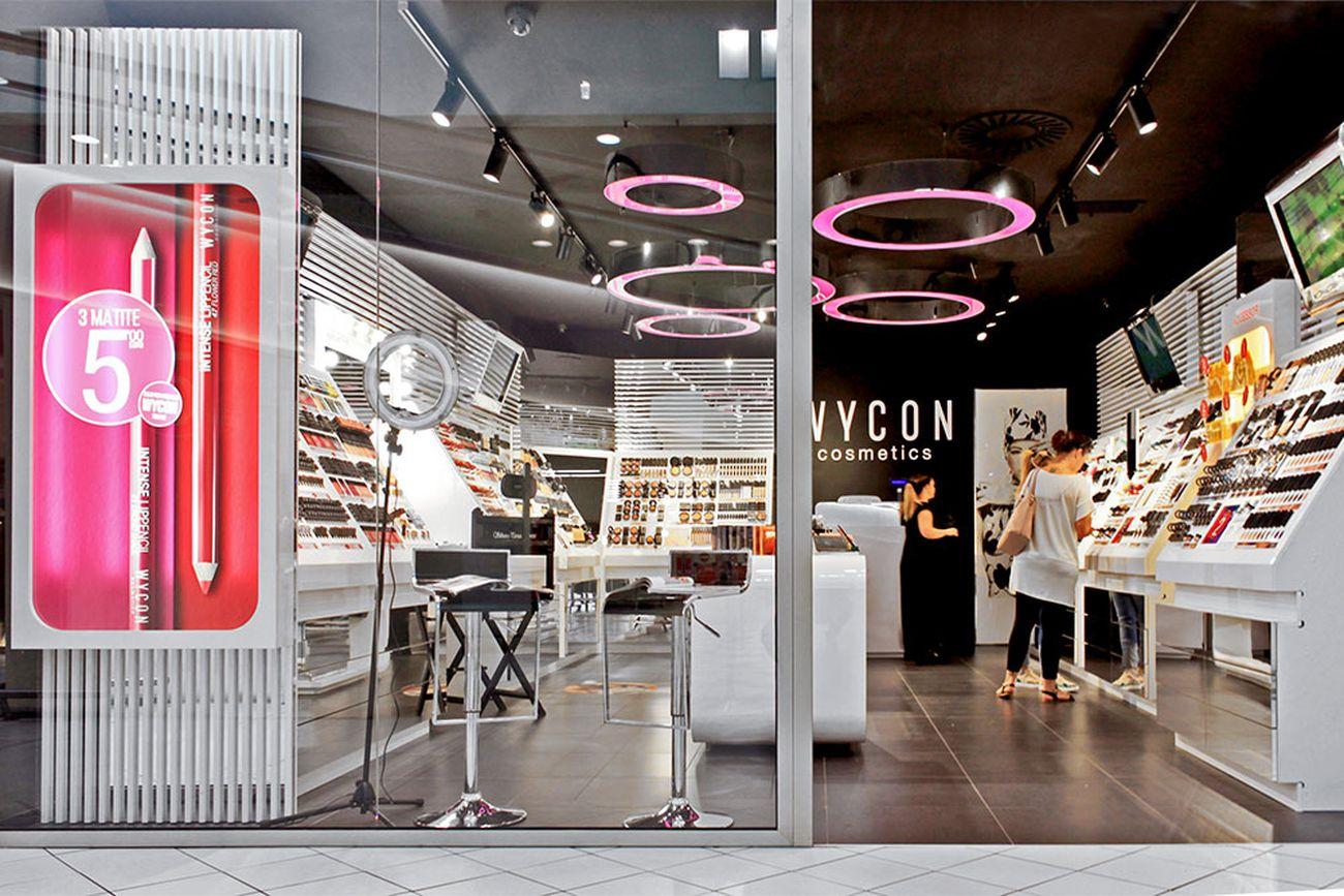 Un punto vendita Wycon