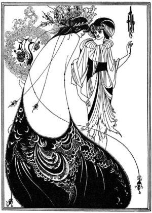Un'illustrazione di Aubrey Beardsley per la Salomè, edizione del 1893