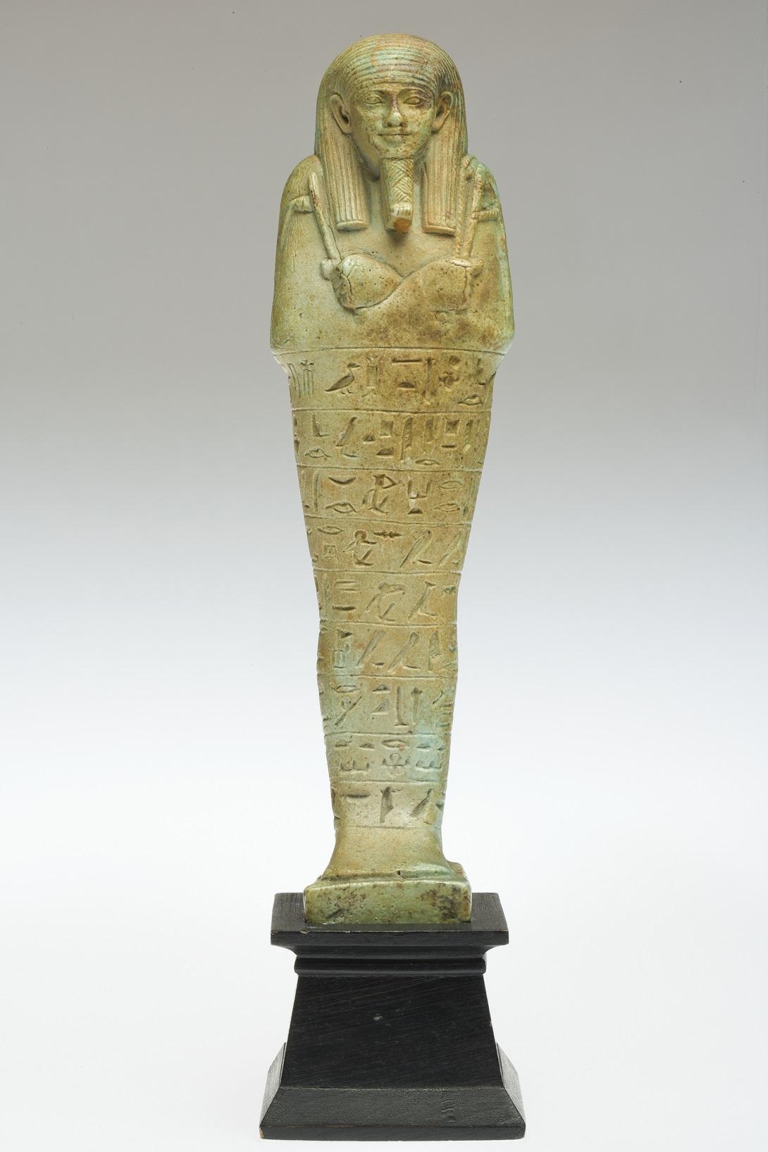 Ushabty, Fayence, XXVI dinastia (570 526), Collezione Ruffini