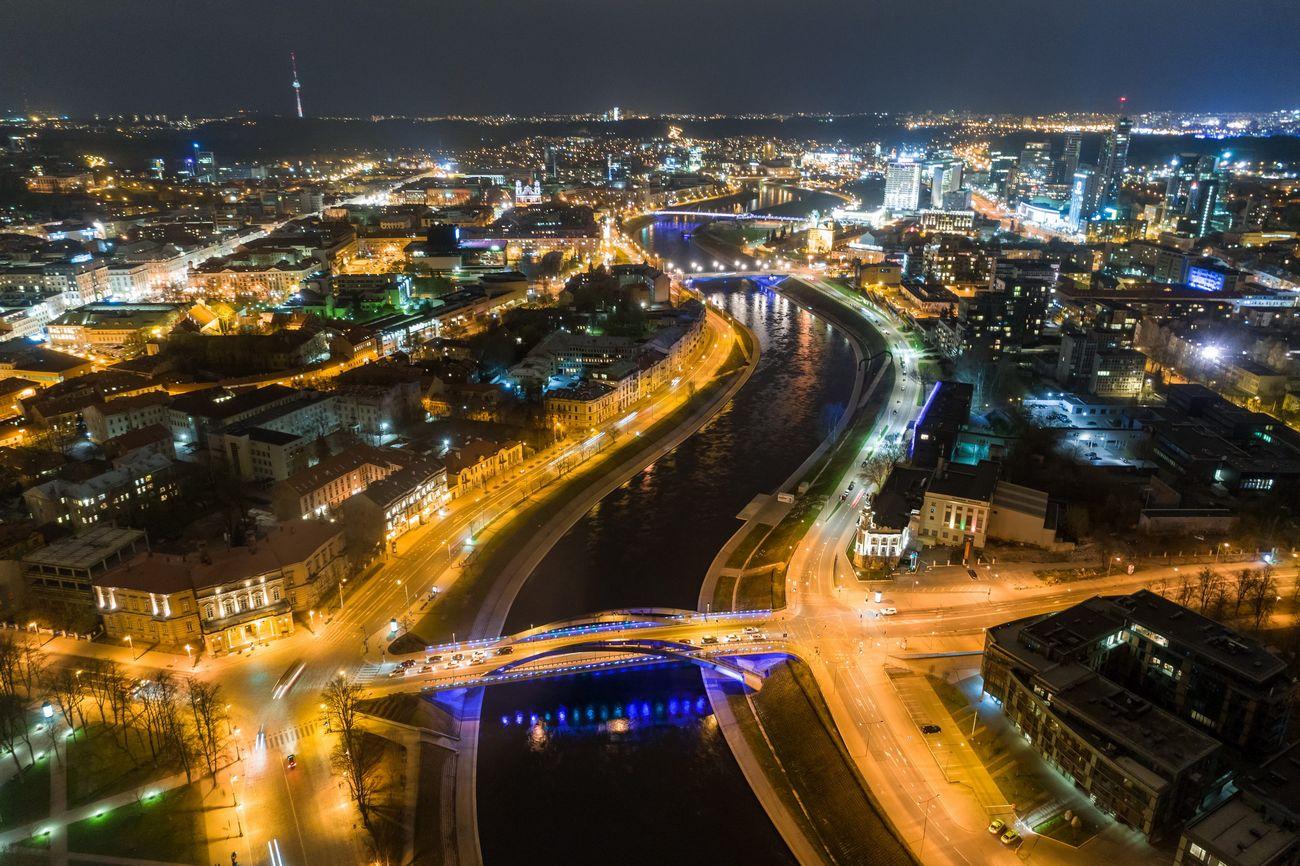 Vilnius, capitale della Lituania © Go Vilnius