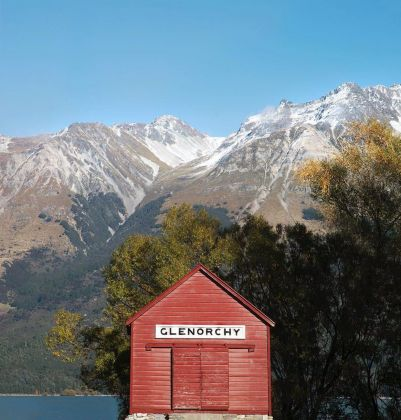 Wharf Shed, Glenorchy, South Island, New Zealand, 1885 ca. Photo credit Frida Berg. Courtesy Accidentally Wes Anderson