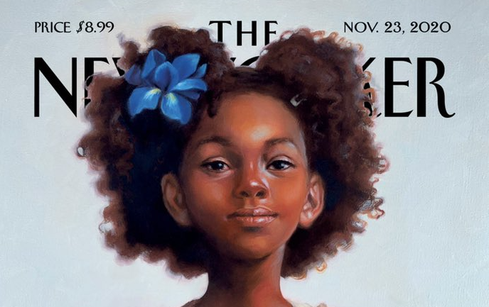 Sweet Liberty dell'artista Kadir Nelson cover the new yorker