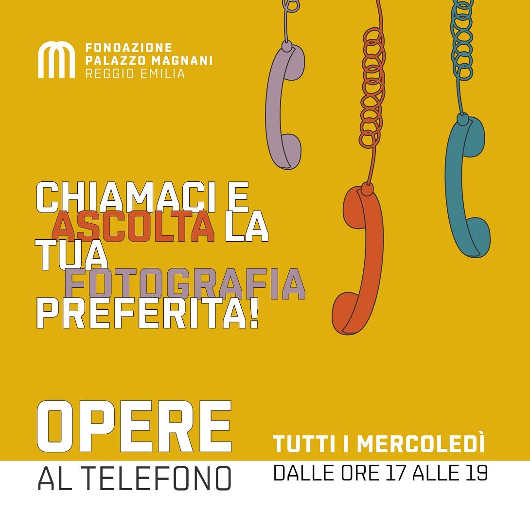 Palazzo Magnani, Opere al telefono