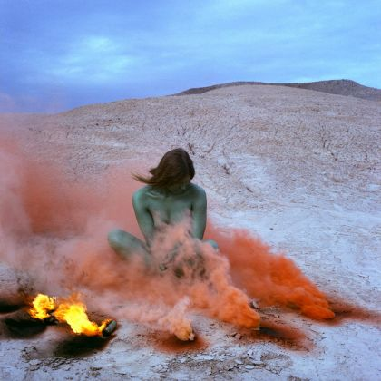 Judy Chicago, Immolation © Judy Chicago/Artists Rights Society (ARS), New York Photo courtesy of Through the Flower Archives Courtesy of the artist; Salon 94, New York; and Jessica Silverman Gallery, San Francisco