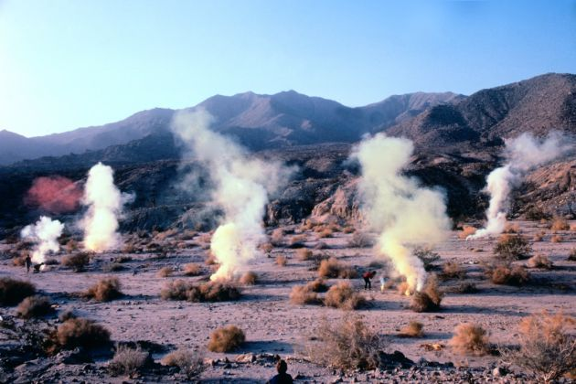 Judy Chicago Desert Atmosphere © Judy Chicago/Artists Rights Society (ARS), New York Photo courtesy of Through the Flower Archives Courtesy of the artist; Salon 94, New York; Jessica Silverman Gallery, San Francisco