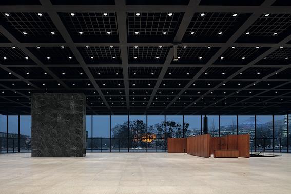 Grundinstandsetzung- Neue Nationalgalerie, Berlin, Baubegleitende Dokumentation Dezember 2020 - Image © BBR / Thomas Bruns