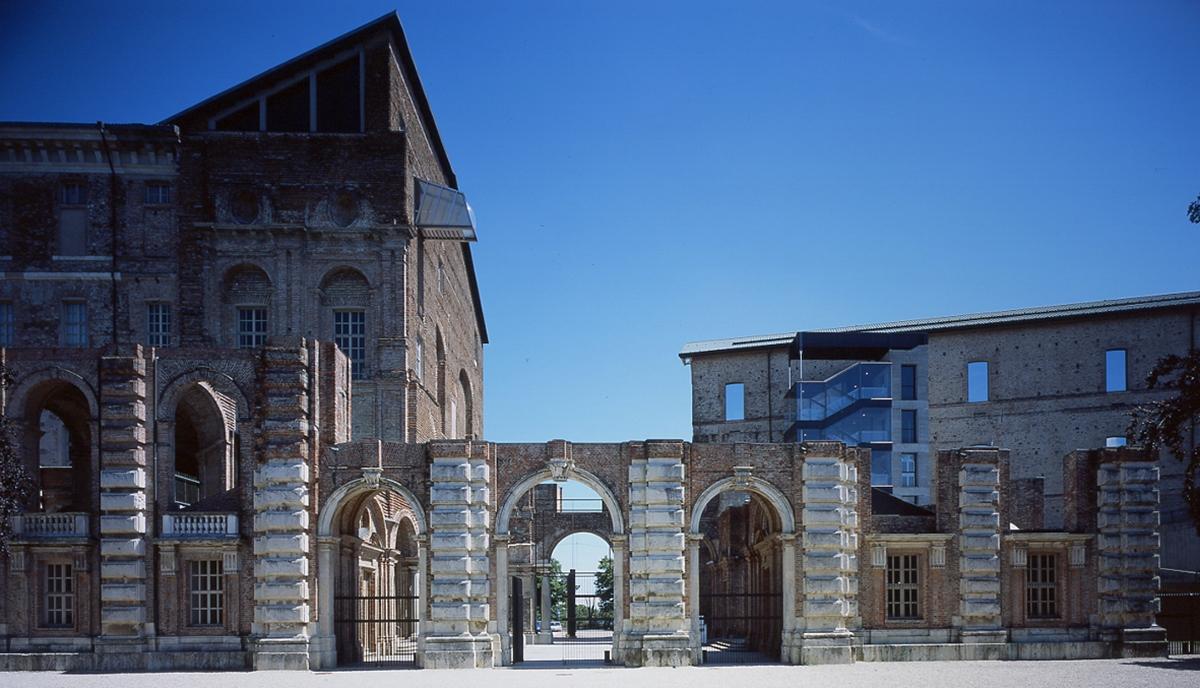 Castello di Rivoli Atrio juvarriano e la Manica Lunga